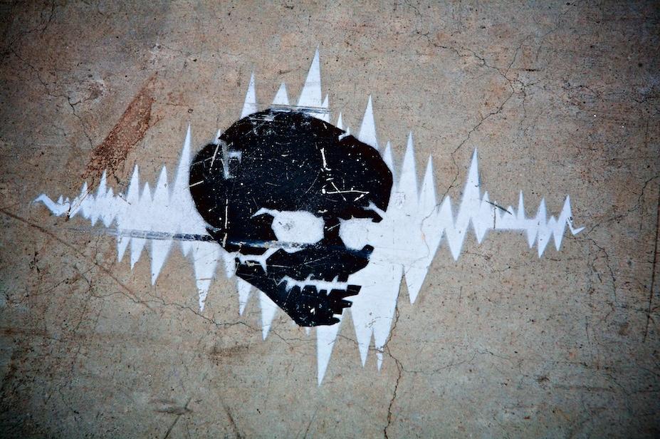 Granville Island Skull