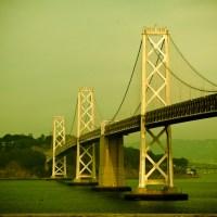 Gray Lady in Green - Bay Bridge, San Francisco   Blurbomat.com