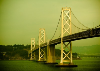 Gray Lady in Green - Bay Bridge, San Francisco | Blurbomat.com