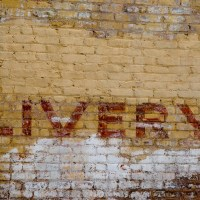 Livery - Wall sign, Austin, Texas | Blurbomat.com