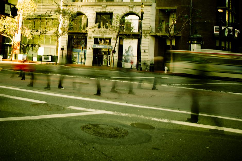 Ghosts on Market Street