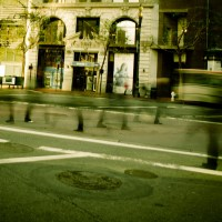 Ghosts on Market St. - San Francisco | Blurbomat.com
