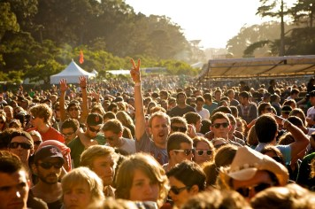 Outside Lands Crowd (Wilco)