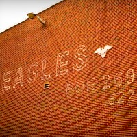 Eagles - Brick Wall, Knoxville, Tennessee | Blurbomat.com