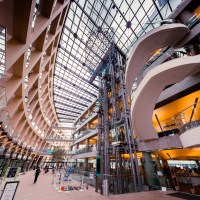 Curves - inside the Salt Lake Public Library | Blurbomat.com
