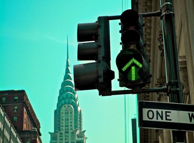 One Way or Another - Midtown Manhattan | Blurbomat.com