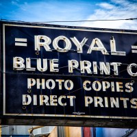 Royal Blue Print Co. | Blurbomat.com