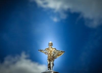 Silver Lady -Bonnet ornament on a vintage Rolls Royce. | Blurbomat.com