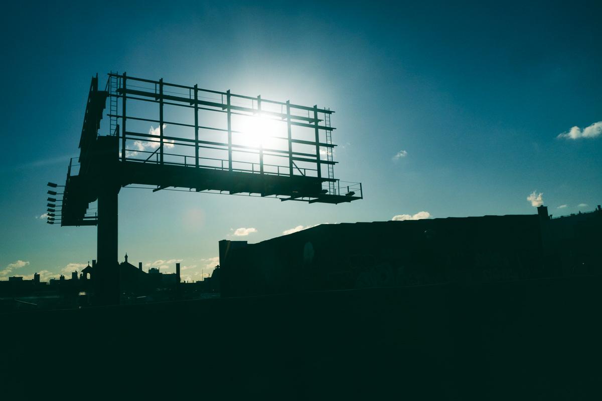 Silent Billboard Sun