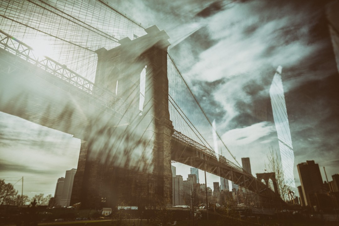 Brooklyn Bridge edited with Analog Efex Pro 2 for Blurbomat.com