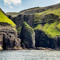 Elephant Rock, Bird Clifss, Faroe Islands | Blurbomat.com