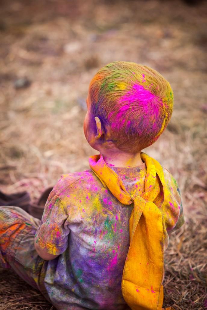 Babies love color!