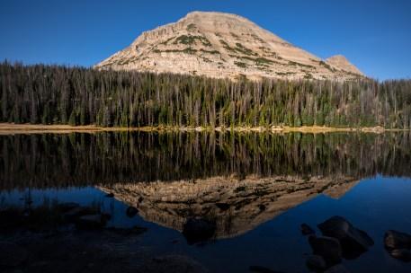 Bald Mountain Reflected in Mirror Lake