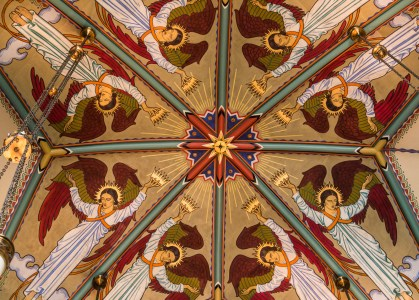 Ceiling, Cathedral of the Madeleine