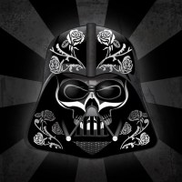 Day Of The Dead Inspired Star Wars Art