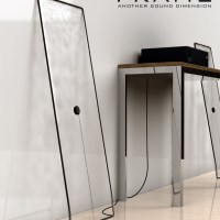 Frame Glass Speakers:  Another Sound DImension