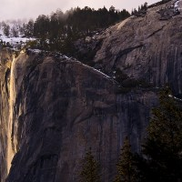 Yosemite's Winter Wonder:  The Natural Firefall