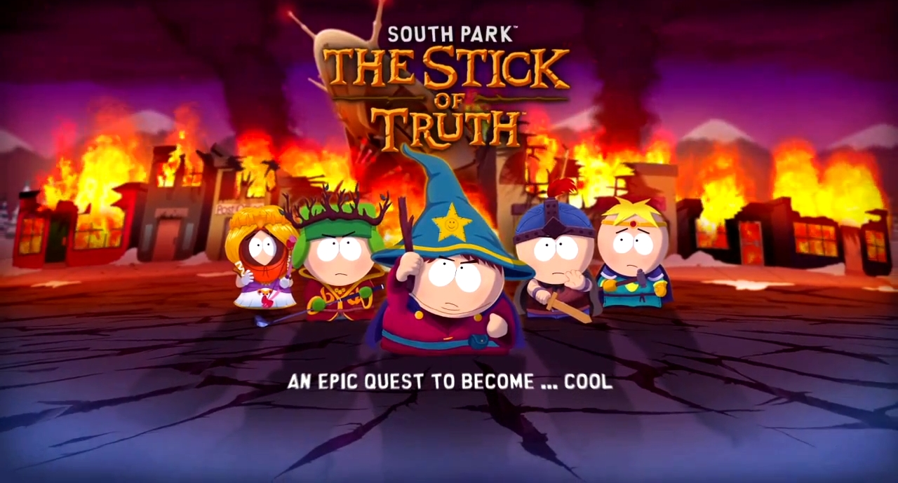 Poster do filme South Park: The Stick of Truth