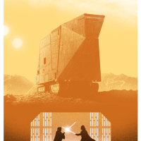 Marko Manev's New Star Wars Triptych Is Superb... Queue The Music