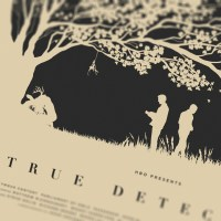"U.K. Artist Thomas Walker Gives Us A Fantastic Print For HBO's ""True Detective"" And Leaves Us Longing For Season 2"