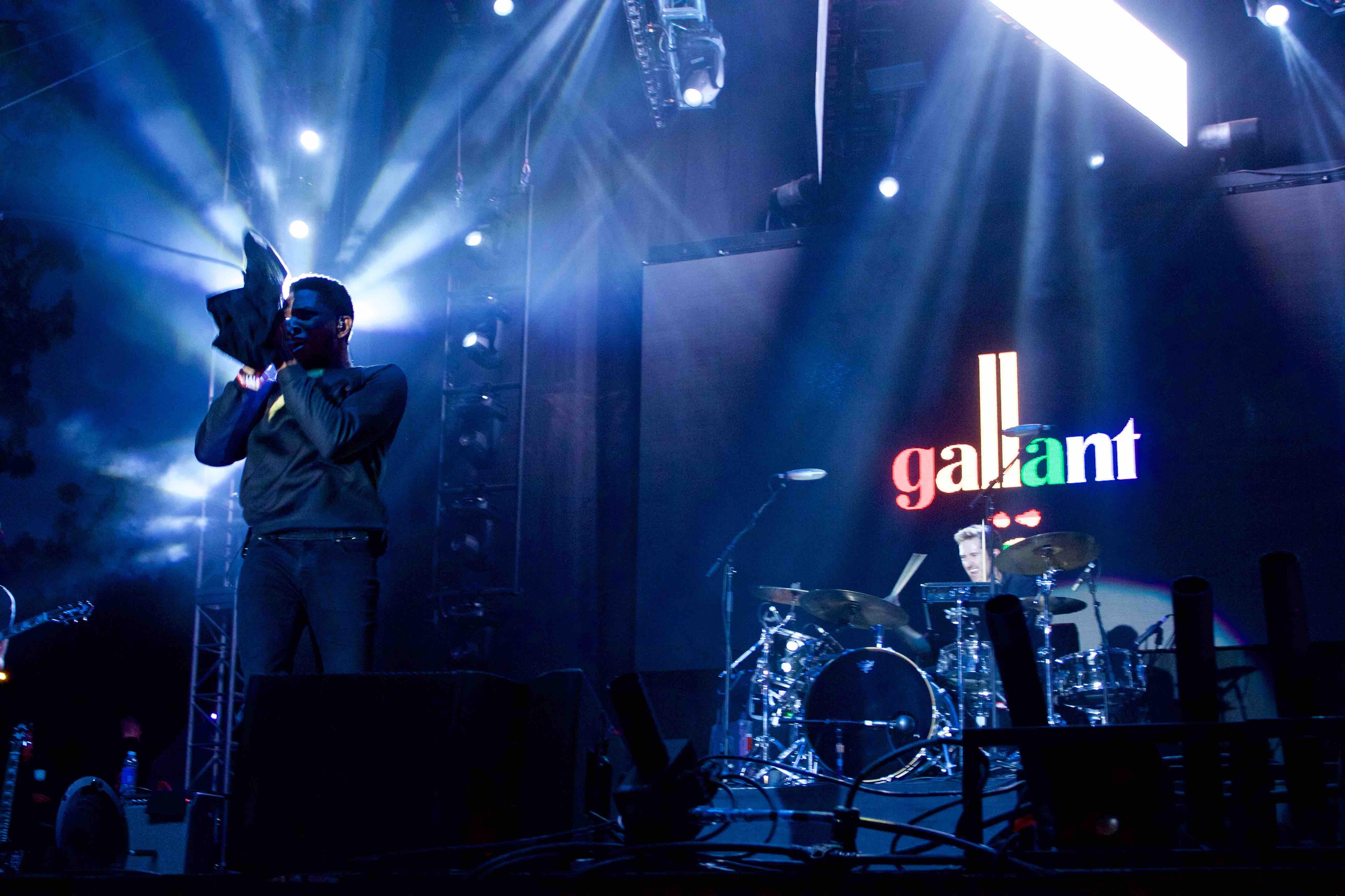 Gallant at L.A. PRIDE 6/12/16. Photo by Derrick K. Lee, Esq. (@Methodman13)