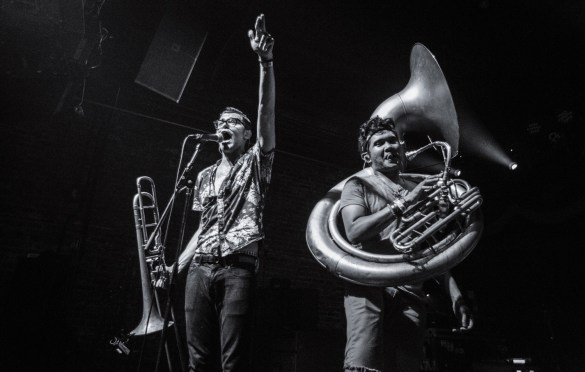 Lucky Chops at Brooklyn Bowl 6/24/16. Photo by Cortney Armitage (@CortneyArmitage )