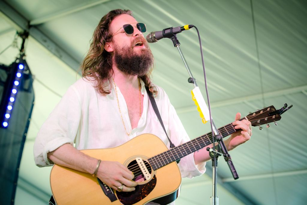 Father John Misty at Newport Folk Festival 7/23/16. Photo by Cortney Armitage (@CortneyArmitage) for www.BlurredCulture.com.