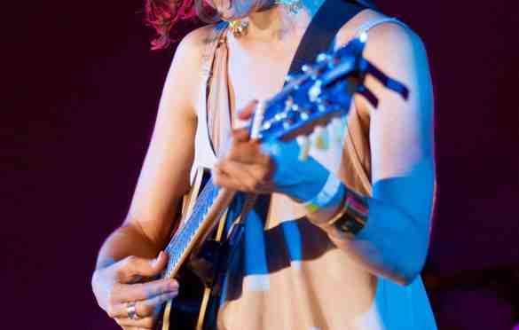 Natalia Lafourcade at Santa Monica Pier's Twilight Concert 8/4/16. Photo by Derrick K. Lee, Esq. (@Methodman13) for www.BlurredCulture.com.