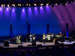 Jeff Beck and Buddy Guy at Hollywood Bowl 8/10/16.