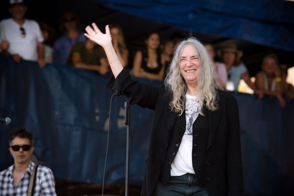 Patti Smith at Newport Folk Festival 7/23/16. Photo by Cortney Armitage (@CortneyArmitage) for www.BlurredCulture.com.