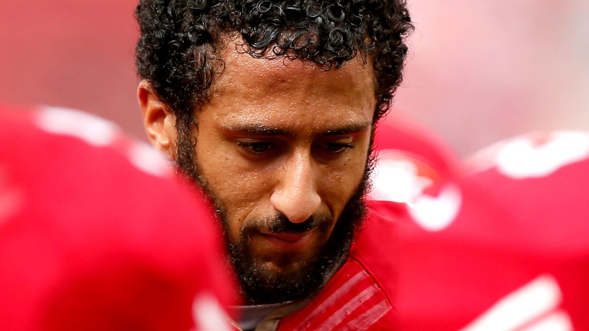Colin Kaepernick explains why he sat during national anthem