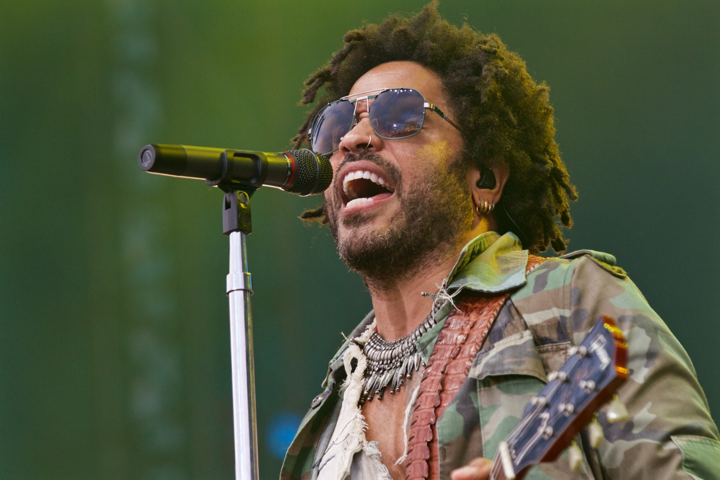 Lenny Kravitz at KAABOO 2016, September 17th. Photo by Derrick K. Lee, Esq. (@Methodman13) for www.BlurredCulture.com.