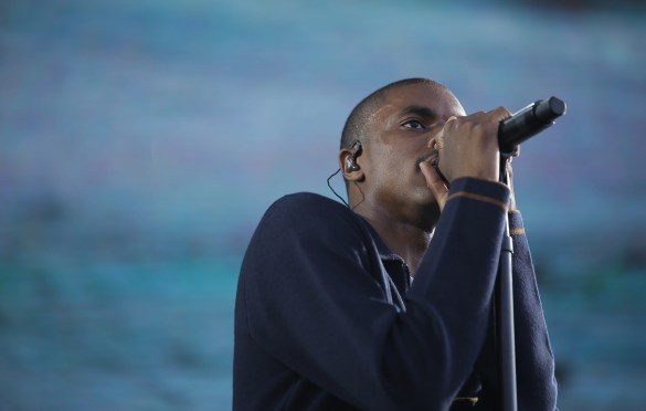 Vince Staples 8/27/16 @ Fuck Yeah Fest. Photo by Quinn Tucker for FYF Fest. Used With Permission By www.BlurredCulture.com.