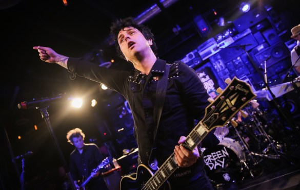 Green Day at RedBull Sound Space at KROQ 10/19/16. Photo by Chelsea Lauren (@ChelseaLaurenLA) for KROQ & RedBull. Used by www.BlurredCulture.com With Permission.
