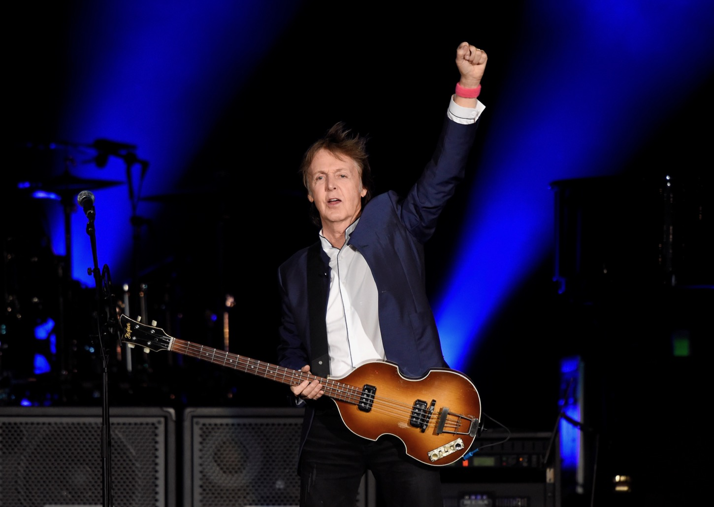 INDIO, CA - OCTOBER 15: Musician Paul McCartney performs during Desert Trip at The Empire Polo Club on October 15, 2016 in Indio, California. (Photo by Kevin Mazur/Getty Images for Desert Trip). Used With Permission.