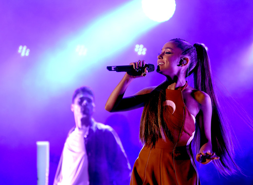 Ariana Grande for the 4th Annual We Can Survive at the Hollywood Bowl 10/22/16. Photo Credit: Getty Images for CBS RADIO. Used With Permission.