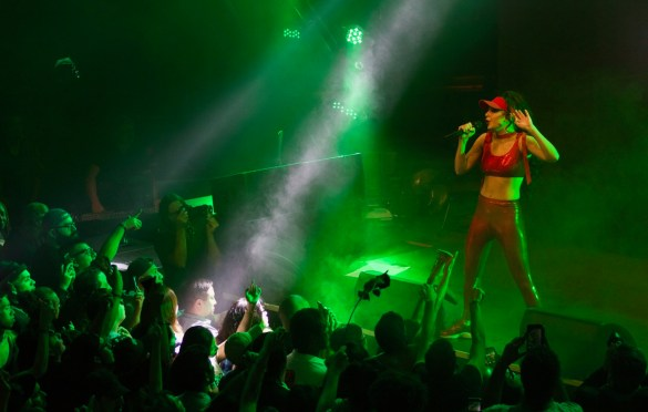 Charli XCX + Sophie @ Exchange LA 11/10/16. Photo by Derrick K. Lee, Esq. (@Methodman13) for www.BlurredCulture.com. This photo was obtained under the express authorization and license by Red Bull Media House North America, Inc.