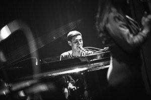Joey Dosik at The Theatre at The Ace Hotel as part of Red Bull Sound Select Presents: 30 Days in LA, in Los Angeles, CA, USA 11/9/16 (Photo by Koury Angelo for Red Bull Sound Select). Used With Permission.