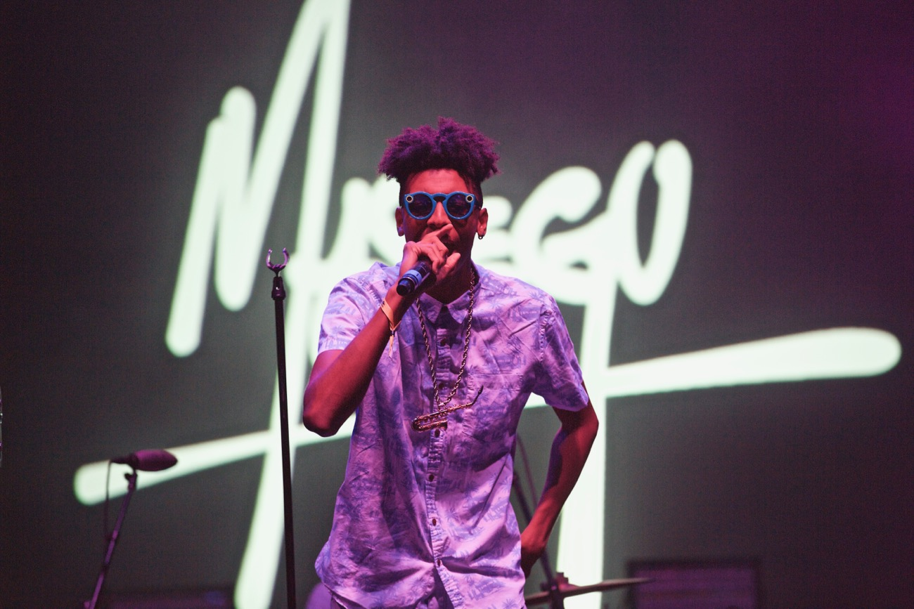 Masego @ The Wiltern 11/19/16. Photo by Derrick K. Lee, Esq. (@Methodman13) for www.BlurredCulture.com. This photo was obtained under the express authorization and license by Red Bull Media House North America, Inc.
