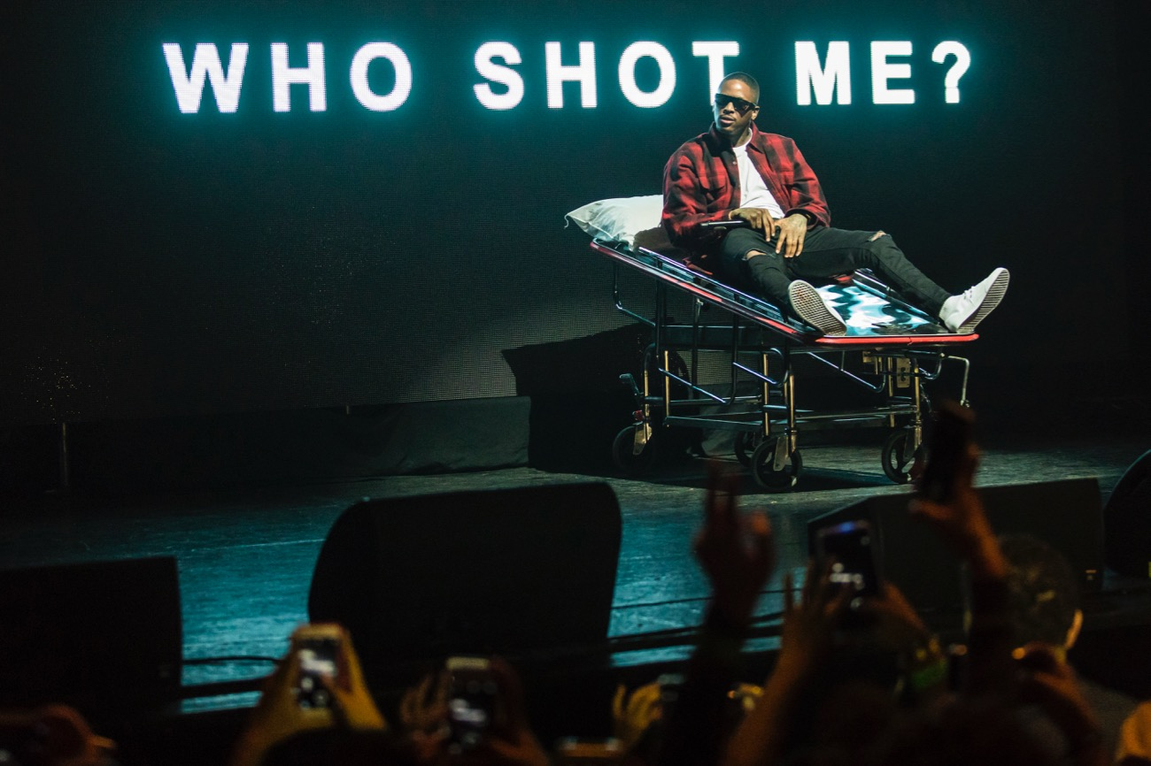 YG performs at The Wiltern Theater as part of Red Bull Sound Select Presents: 30 Days in LA, 11/29/16 (Photo by Marv Watson for Red Bull Sound Select). Used With Permission.