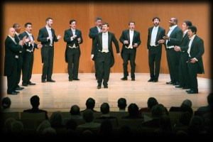 Chanticleer. Photo courtesy of the Los Angeles Philharmonic. Used with permission.