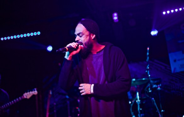 Bilal // Robert Glasper & Friends // Heard's Music + Tech Mash-up presented by SPIN, VIBE and Sterogum @ Mazda Studdio at Empire Garage // SXSW 3/13/2017. Photo by Derrick K. Lee, Esq. (@Methodman13) for www.BlurredCulture.com.