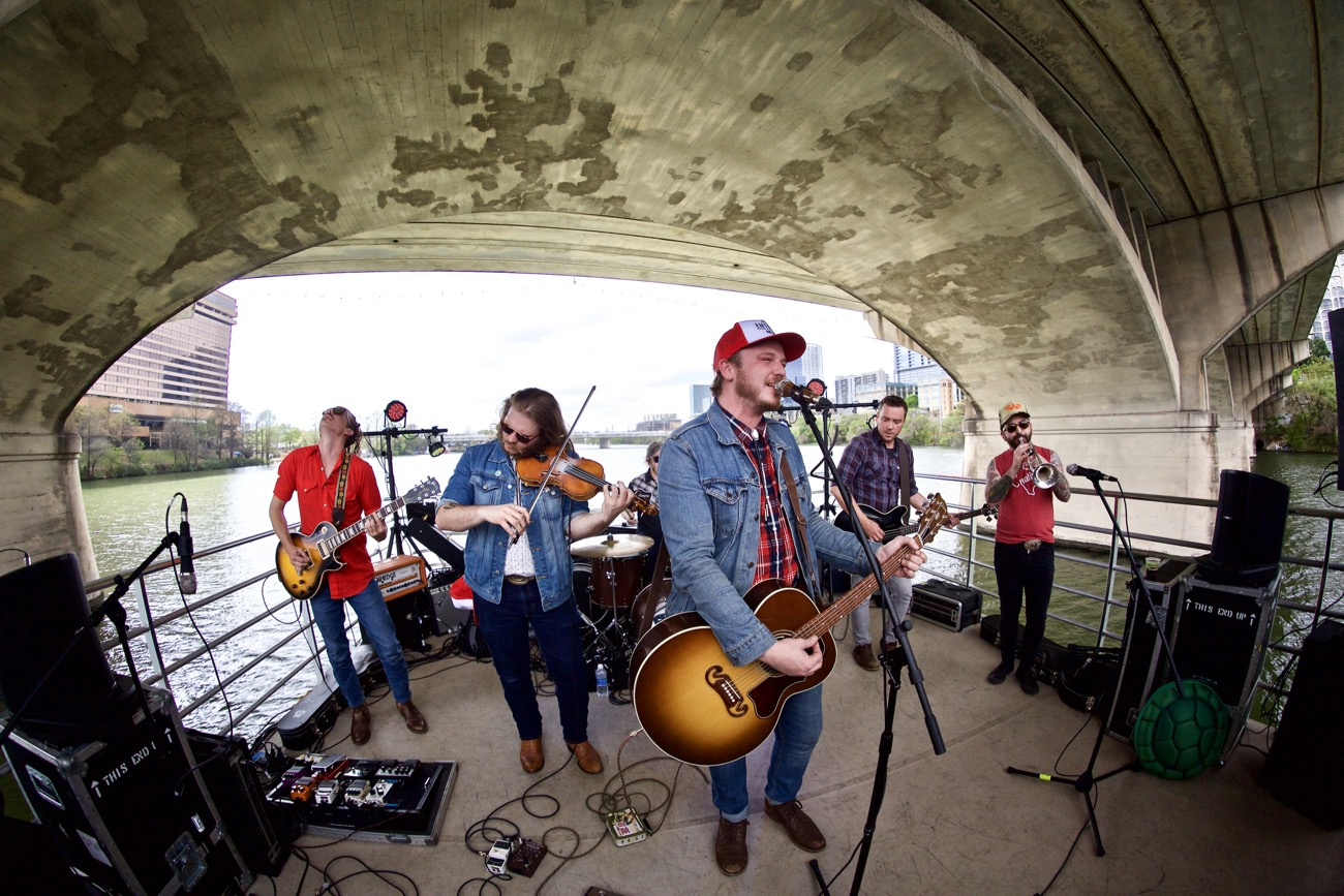 Vandoliers // 30A Riverboat Cruise // SXSW 3/16/2017. Photo by Derrick K. Lee, Esq. (@Methodman13) for www.BlurredCulture.com.