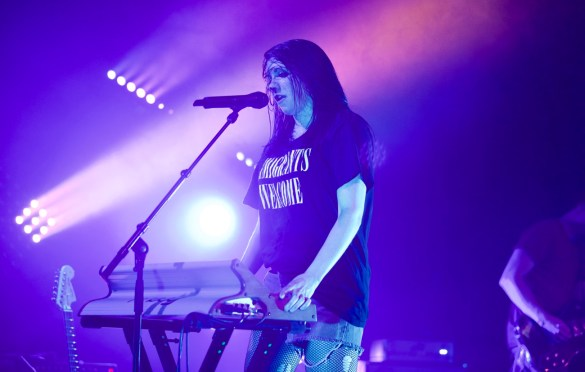 K.Flay // 4/5/17 El Rey Theatre // Photo by Derrick K. Lee,  Esq. (@Methodman13) for www.BlurredCulture.com.