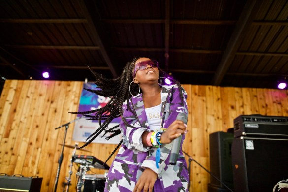 Tkay Maidza // 3/18/2017 at Barracuda presented by Do 512's The Big One // SXSW 2017 // Photo by Derrick K. Lee, Esq. (@Methodman13) for www.BlurredCulture.com.