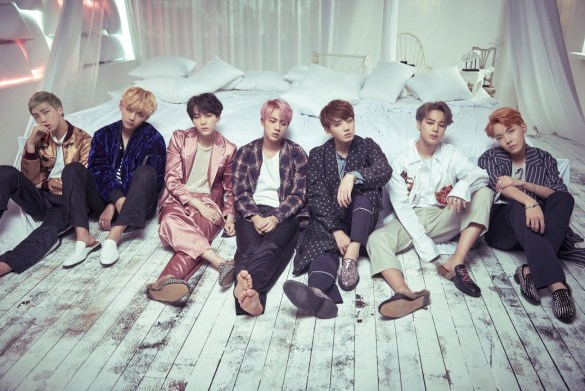BTS Group Photo // Photo courtesy of the artist // Used With Permission
