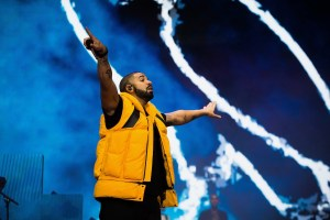 Drake @ Coachella 4/15/17. Photo by Greg Noire. Courtesy of Coachella. Used with permission.