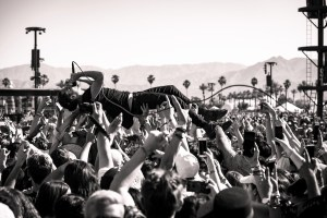 Local Natives @ Coachella 4/15/17. Photo by Charles Reagan Hackleman. Courtesy of Coachella. Used with permission.