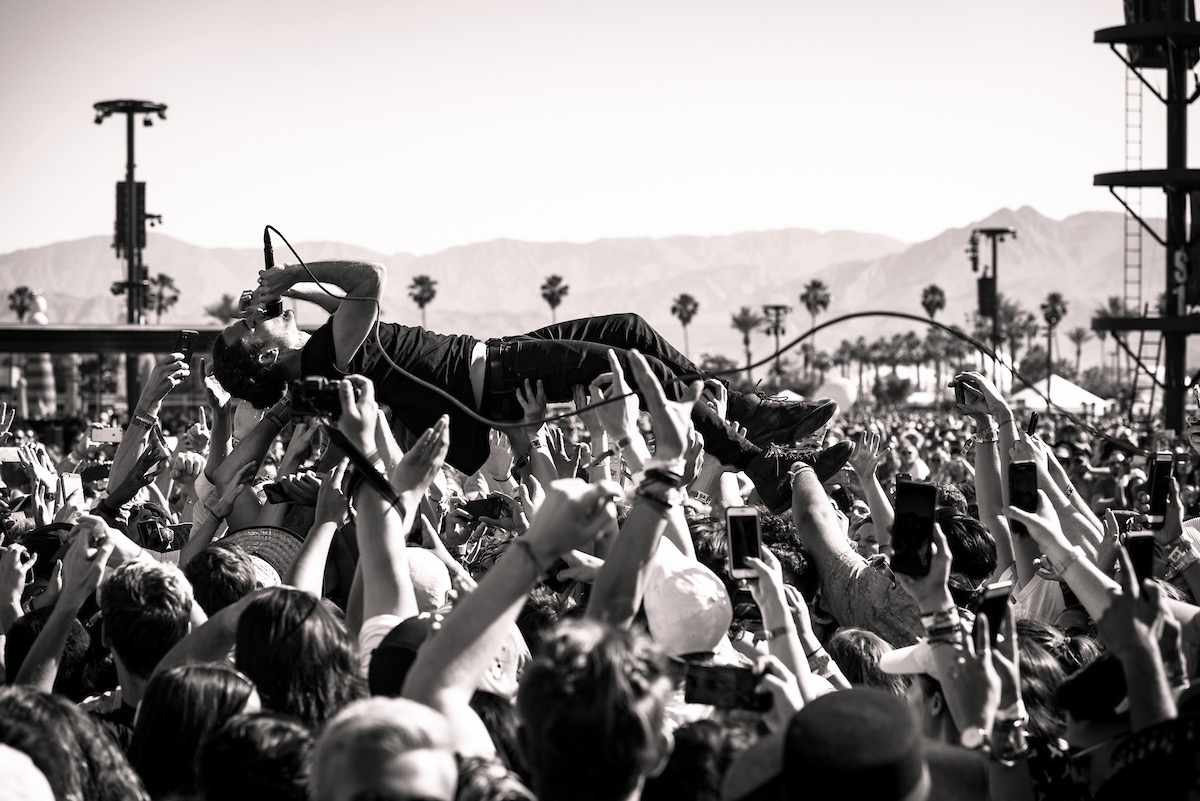 Local Natives @ Coachella 4/15/16. Photo by Charles Reagan Hackleman. Courtesy of Coachella. Used with permission.