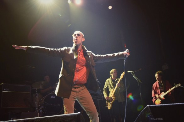 Richard Ashcroft (of The Verve) @ Terminal 5 3/21/17. Photo by Vivian Wang (@Lithophyte) for www.BlurredCulture.com.